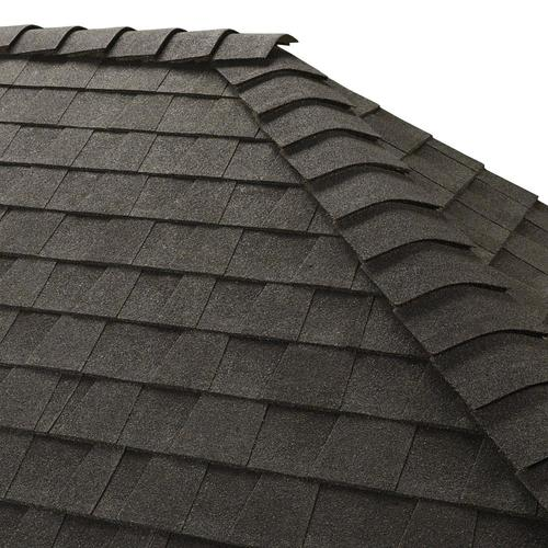 GAF Z Ridge 33-lin ft Charcoal Hip and Ridge Roof Shingles