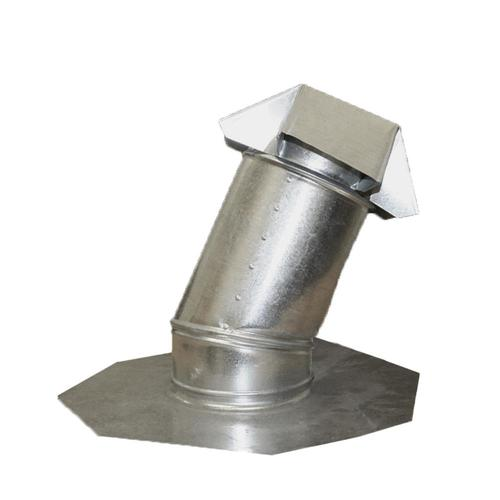 Construction Metals Inc. 6-in x 15-in Galvanized Steel Vent and Pipe Flashing
