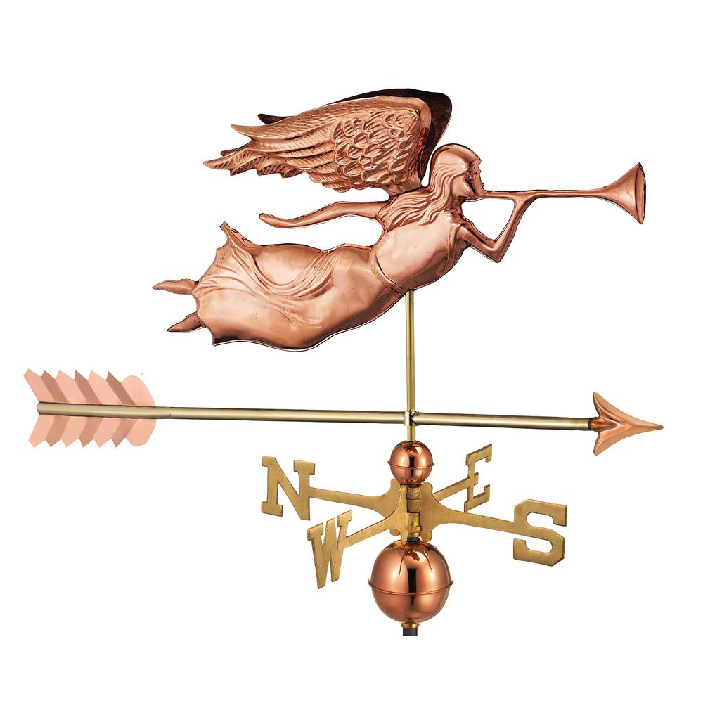 Angel with Arrow Weathervane-Pure Copper