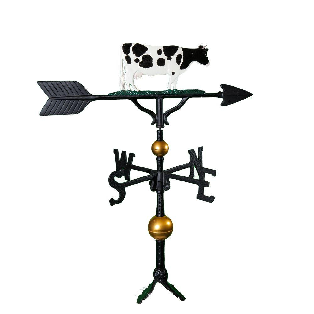 32 in. Deluxe Color Cow Weathervane