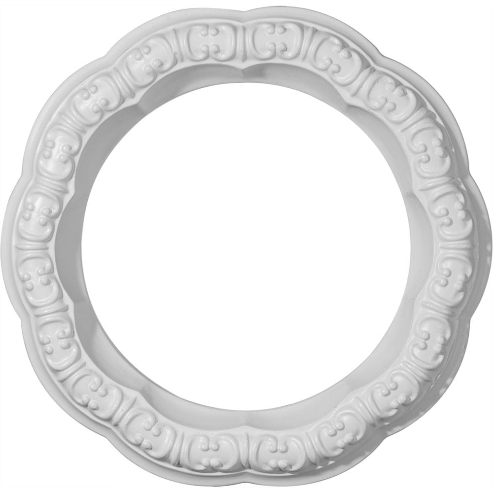 Ekena Millwork Decorative Ceiling Rings/Swindon / Ceiling Ring / 10'OD x 6 5/8'ID x 1 5/8'W x 1 1/4' / CR09SW