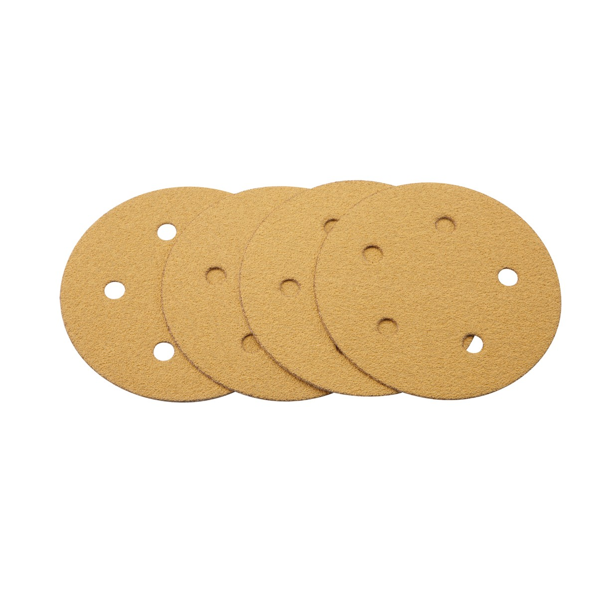 5 in. 60 Grit Hook and Loop Sanding Discs 4 Pc