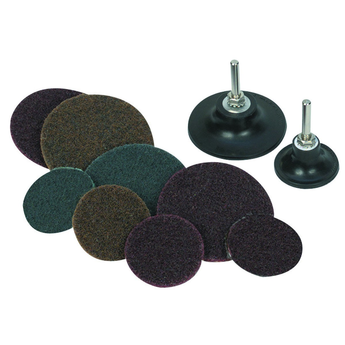 2 in, 3 in. Fiber Disc Sanding Kit