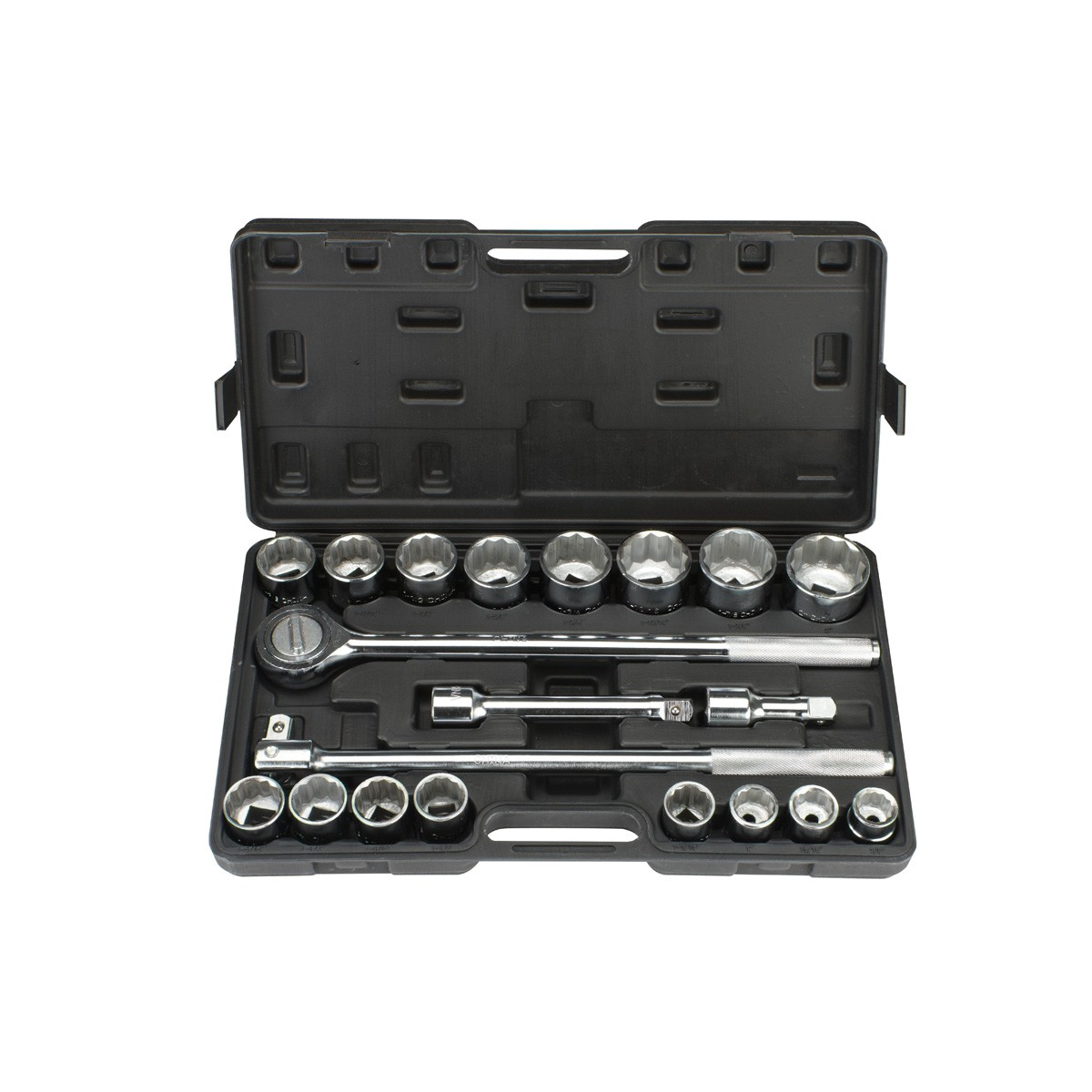 20 Pc 3/4 in. Drive SAE Jumbo Heavy Duty Socket Set