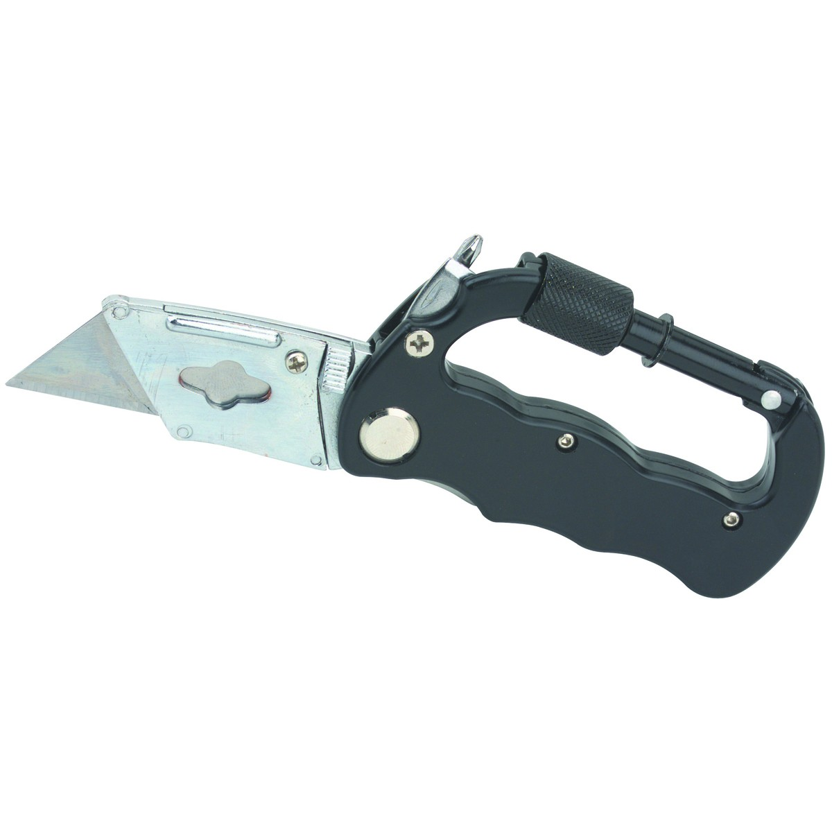 Carabiner Multi-tool Knife With Five Blades