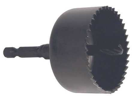 WESTWARD Hole Saw,Carbon Steel,1-3/4 in. Dia 45EG76